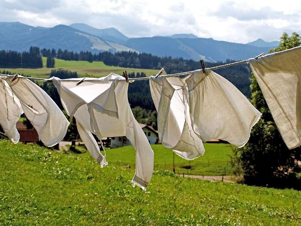 Verblichene Wäsche - Pixabay