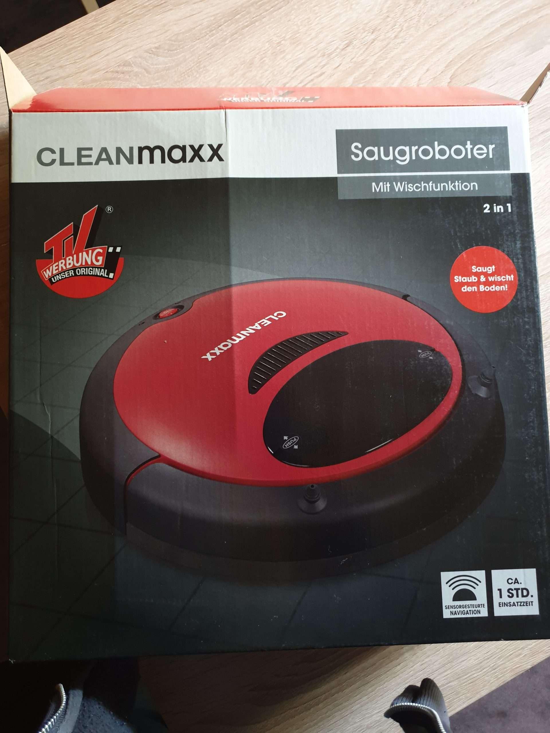 Saugroboter Cleanmaxx im test